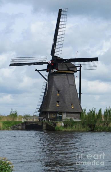 Wall Art - Photograph - Dutch Windmills 19 by Randall Weidner