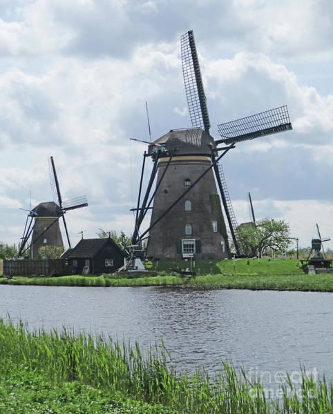 Wall Art - Photograph - Dutch Windmills 20 by Randall Weidner