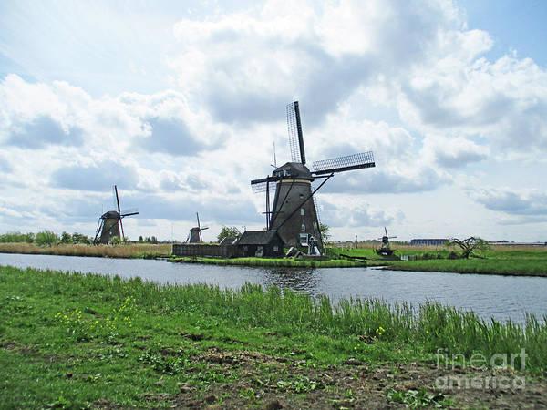 Wall Art - Photograph - Dutch Windmills 21 by Randall Weidner