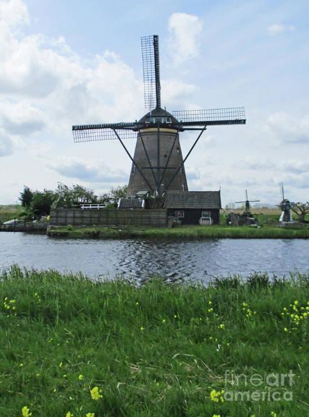 Wall Art - Photograph - Dutch Windmills 22 by Randall Weidner