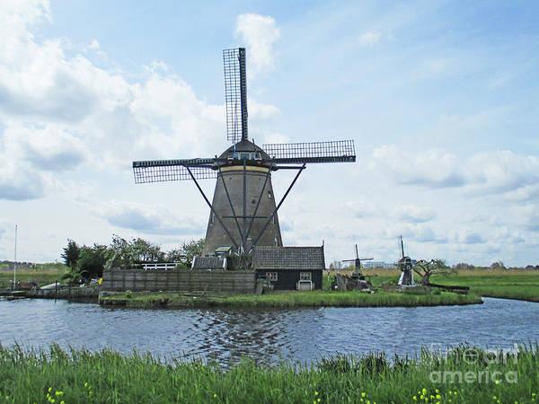 Wall Art - Photograph - Dutch Windmills 23 by Randall Weidner
