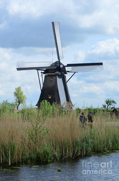 Wall Art - Photograph - Dutch Windmills 25 by Randall Weidner