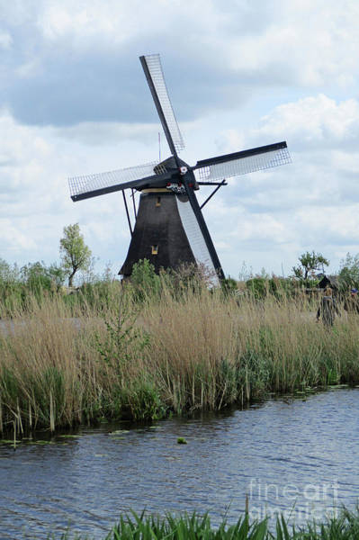 Wall Art - Photograph - Dutch Windmills 26 by Randall Weidner