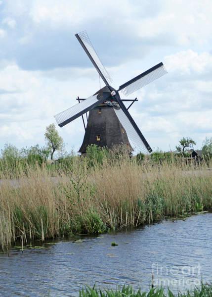 Wall Art - Photograph - Dutch Windmills 27 by Randall Weidner
