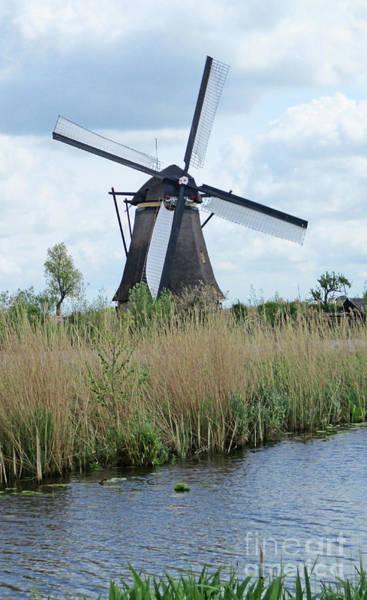 Wall Art - Photograph - Dutch Windmills 28 by Randall Weidner
