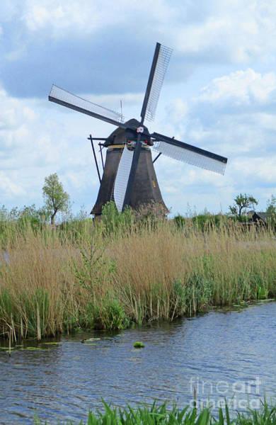 Wall Art - Photograph - Dutch Windmills 29 by Randall Weidner