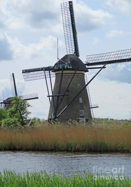 Wall Art - Photograph - Dutch Windmills 30 by Randall Weidner
