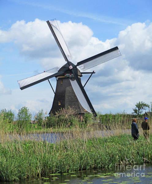 Wall Art - Photograph - Dutch Windmills 31 by Randall Weidner