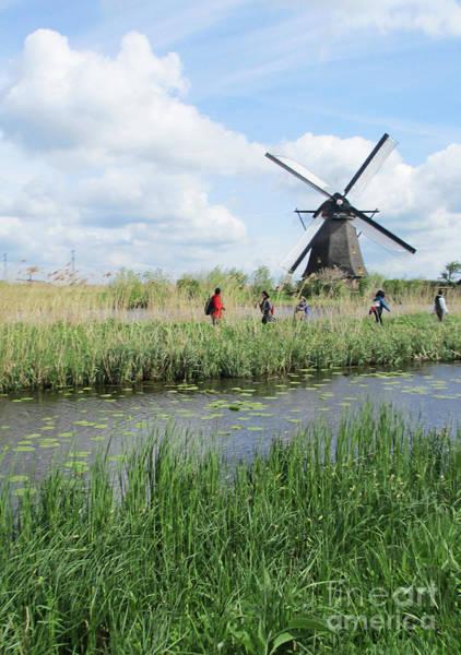 Wall Art - Photograph - Dutch Windmills 32 by Randall Weidner