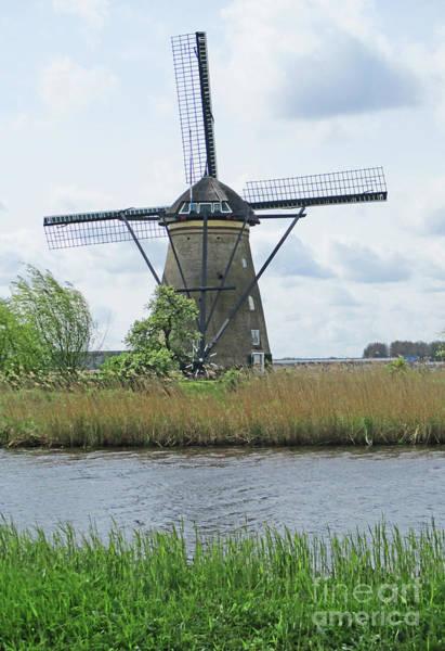 Wall Art - Photograph - Dutch Windmills 33 by Randall Weidner
