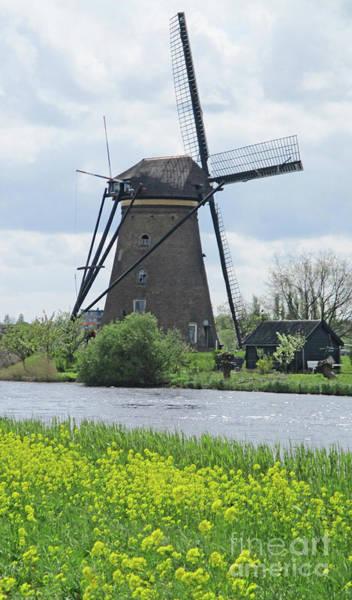 Wall Art - Photograph - Dutch Windmills 34 by Randall Weidner