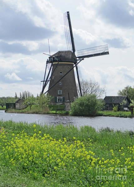 Wall Art - Photograph - Dutch Windmills 39 by Randall Weidner