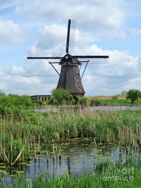 Wall Art - Photograph - Dutch Windmills 43 by Randall Weidner