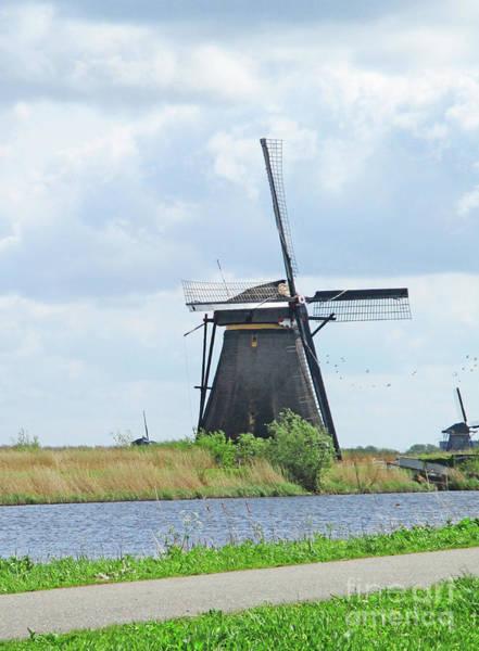 Wall Art - Photograph - Dutch Windmills 5 by Randall Weidner