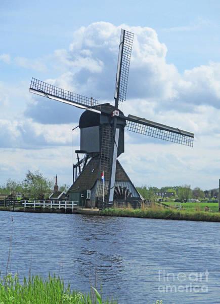 Wall Art - Photograph - Dutch Windmills 50 by Randall Weidner