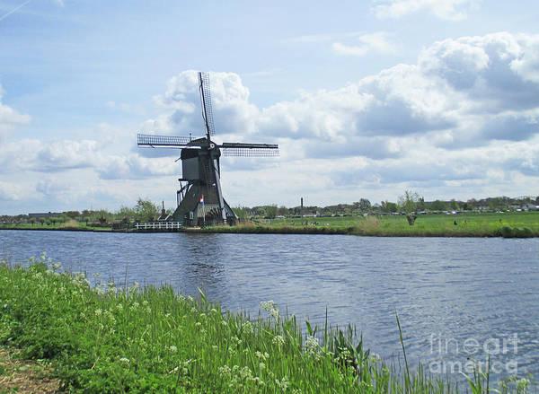 Wall Art - Photograph - Dutch Windmills 51 by Randall Weidner