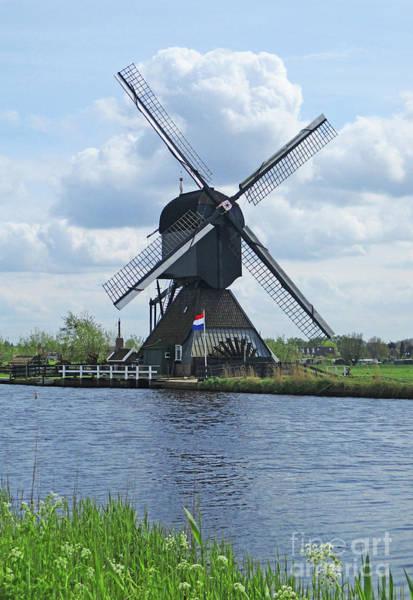 Wall Art - Photograph - Dutch Windmills 52 by Randall Weidner