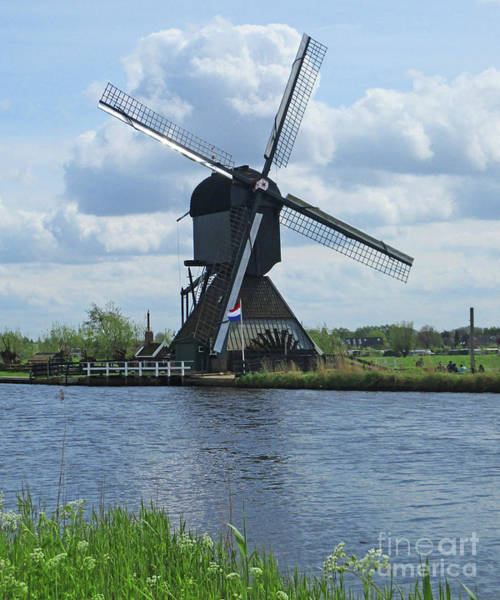 Wall Art - Photograph - Dutch Windmills 54 by Randall Weidner