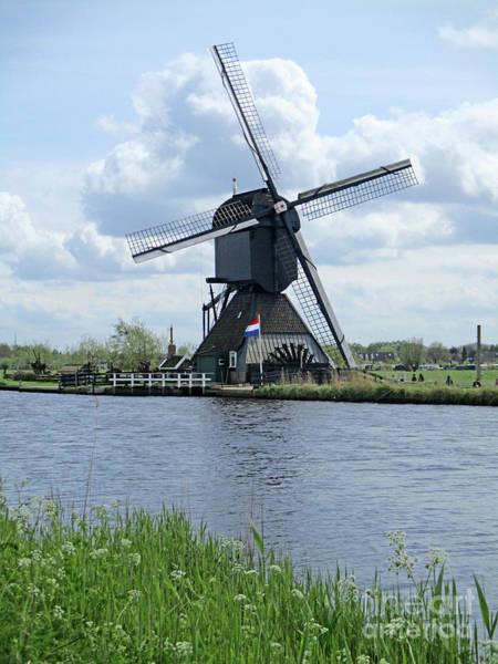 Wall Art - Photograph - Dutch Windmills 55 by Randall Weidner