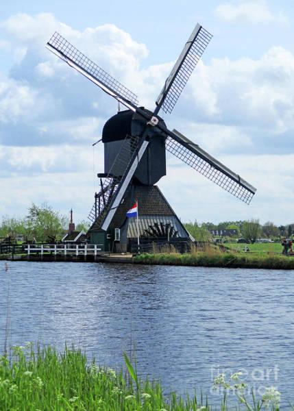 Wall Art - Photograph - Dutch Windmills 56 by Randall Weidner