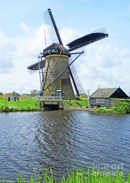 Wall Art - Photograph - Dutch Windmills 6 by Randall Weidner