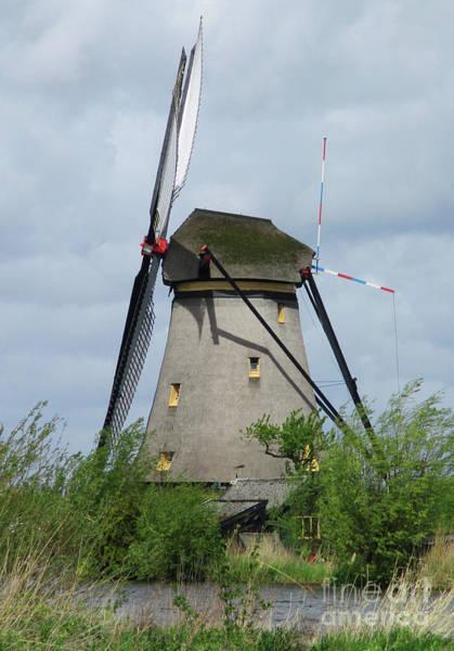 Wall Art - Photograph - Dutch Windmills 60 by Randall Weidner