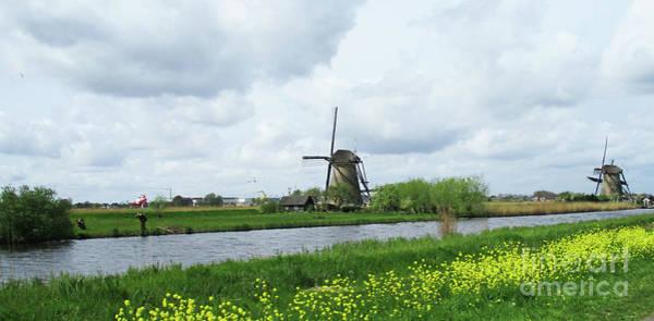 Wall Art - Photograph - Dutch Windmills 61 by Randall Weidner