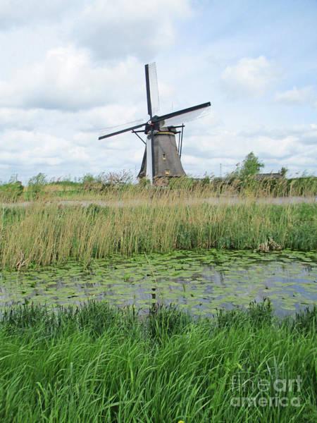 Wall Art - Photograph - Dutch Windmills 63 by Randall Weidner