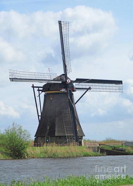 Wall Art - Photograph - Dutch Windmills 7 by Randall Weidner