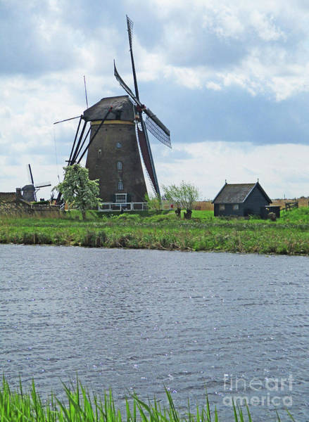 Wall Art - Photograph - Dutch Windmills 9 by Randall Weidner