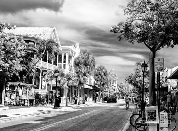 Photograph - Duval Street Key West by John Rizzuto