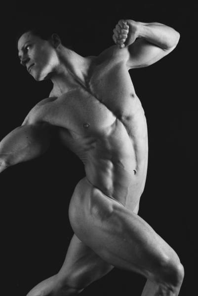 Physique Photograph - Dwain Leland 1 by Thomas Mitchell