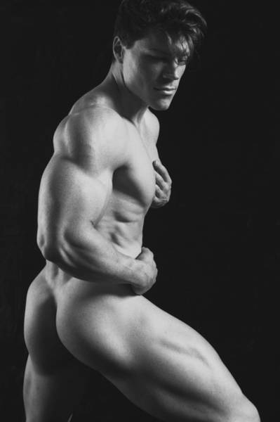Physique Photograph - Dwain Leland 7 by Thomas Mitchell