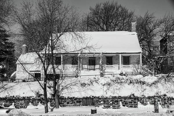 Photograph - Dyckman House Winter by Cole Thompson