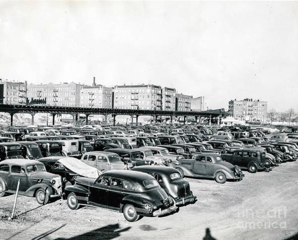Photograph - Dyckman Oval Parking Lot by Cole Thompson
