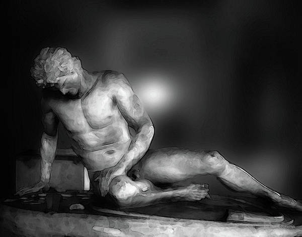 Photograph - Dying Gaul by Coleman Mattingly