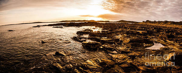 Panoramic Photograph - Dynamic Ocean Panoramic by Jorgo Photography - Wall Art Gallery