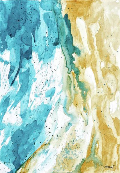 Painting - Dynamics Of Ocean by Maria Arnaudova