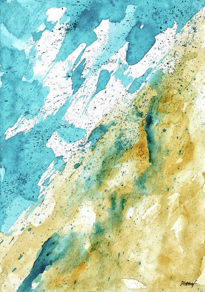 Painting - Dynamics Of Water by Maria Arnaudova
