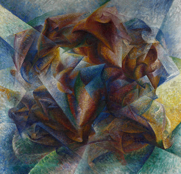 Painting - Dynamism Of A Soccer Player by Umberto Boccioni
