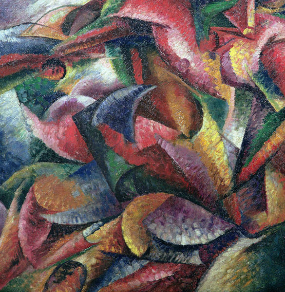 Boccioni Wall Art - Painting - Dynamism Of The Body by Umberto Boccioni