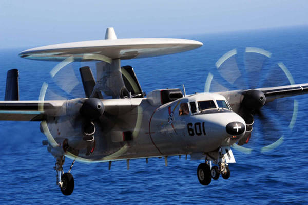 Missing Painting - E-2c Hawkeye Us Navy by Celestial Images