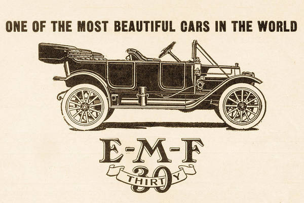 Digital Art - E-m-f 30 1911 Auto Advertisement by SR Green