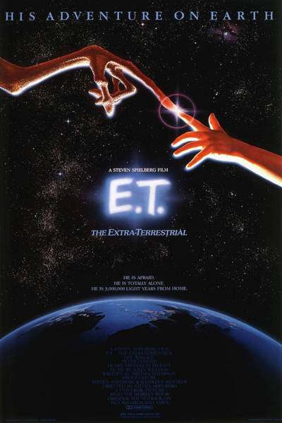Mixed Media - E T The Extra Terrestrial 2 by Movie Poster Prints