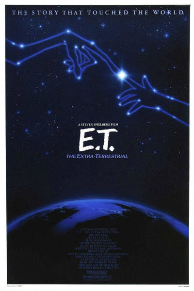Mixed Media - E T The Extra Terrestrial 3 by Movie Poster Prints