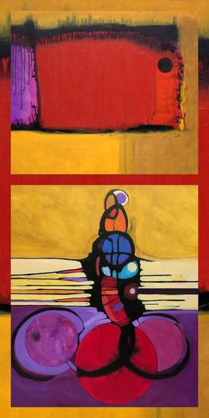 Painting - E Volving by Marlene Burns