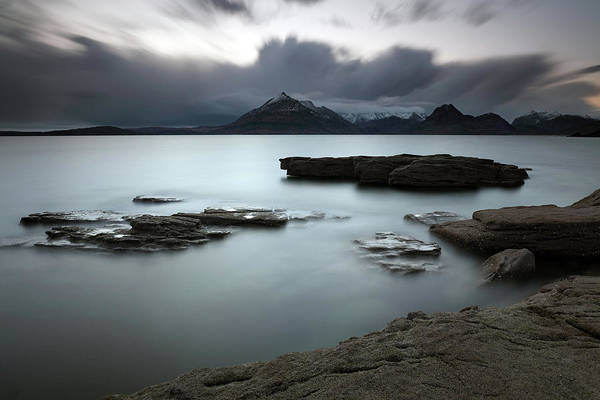 Photograph - Elgol Big Rocks by Grant Glendinning