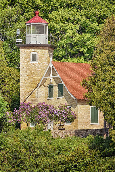 Photograph - Eagle Bluff Lighthouse by Susan Rissi Tregoning