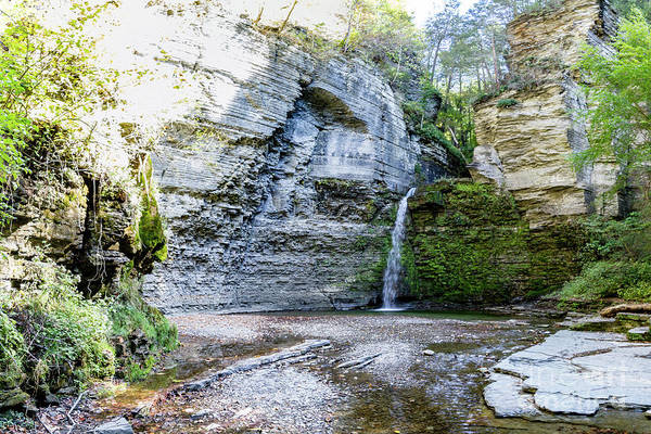 Photograph - Eagle Cliff Falls Panorama by William Norton