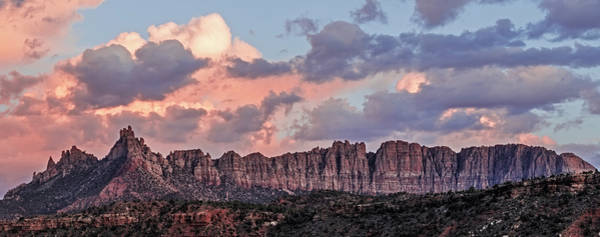 Photograph - Eagle Crags Sunset by Loree Johnson